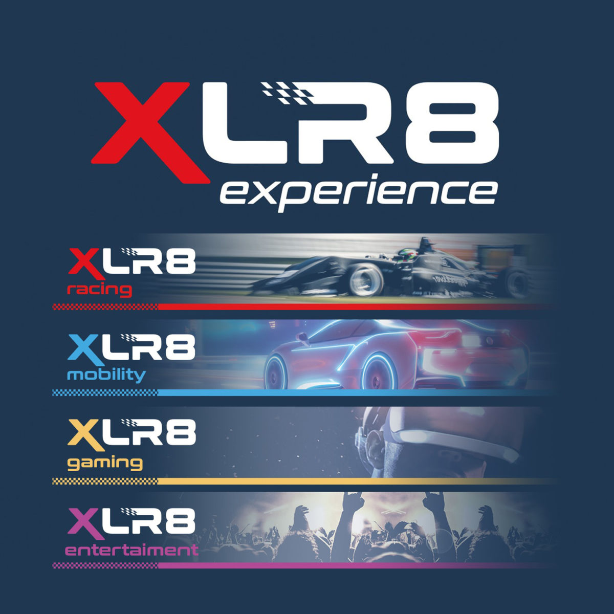 Die vier Säulen der XLR8 experience