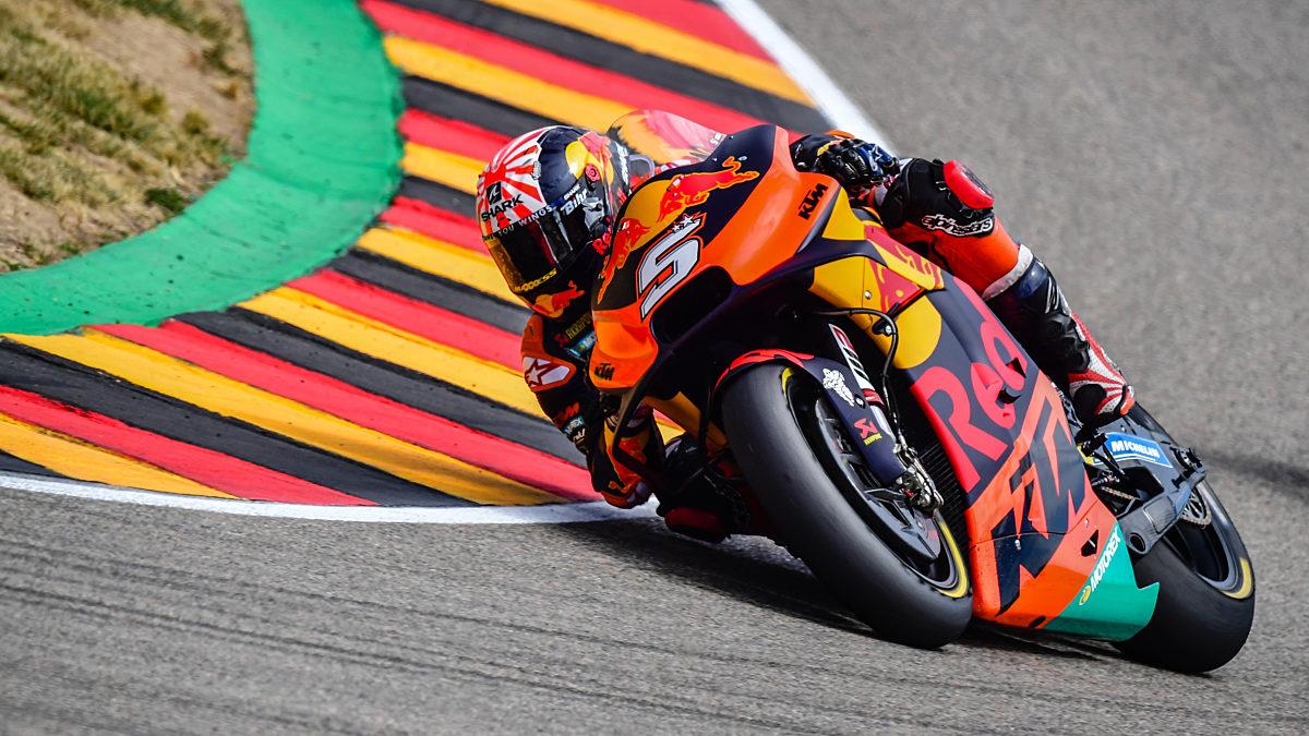 296235 Johann Zarco KTM RC16 Moto GP 2019 Sachsenring GER2019070600039 19