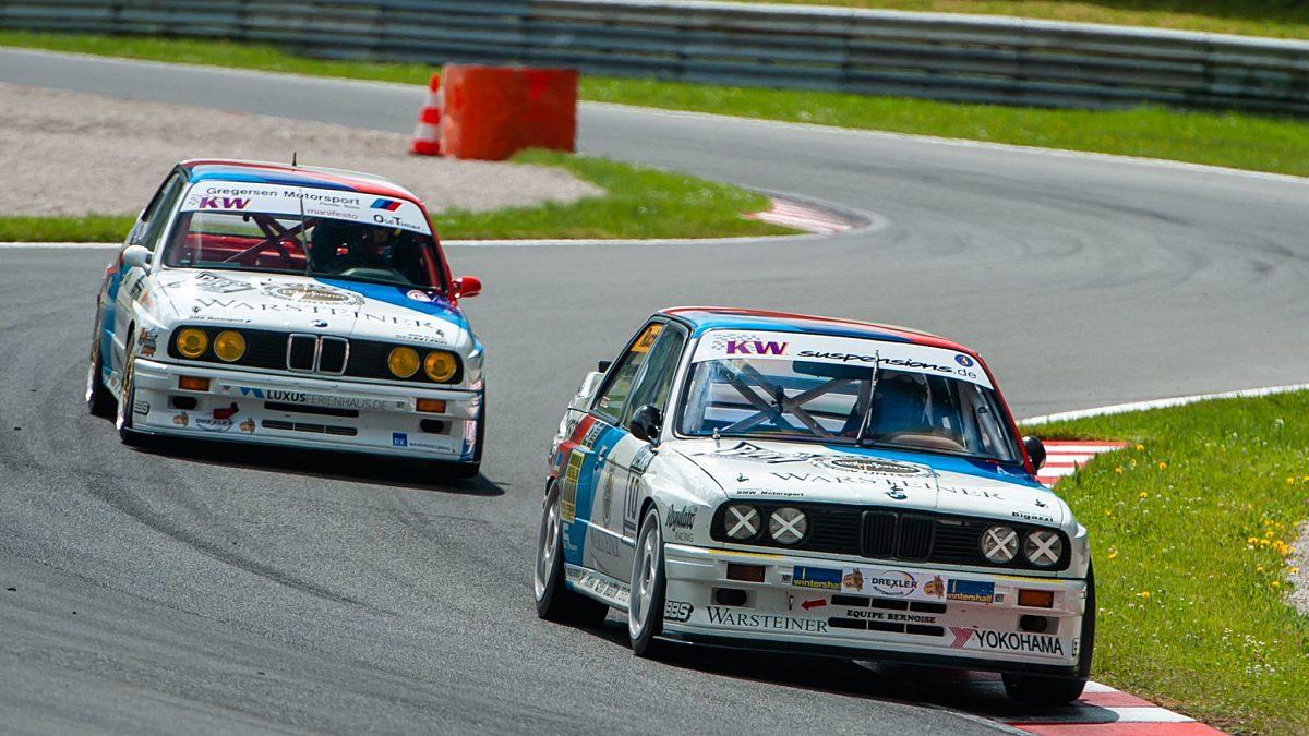 BMW Klassiker in den Tourenwagen Classics Credit Michael Jurtin XLR8