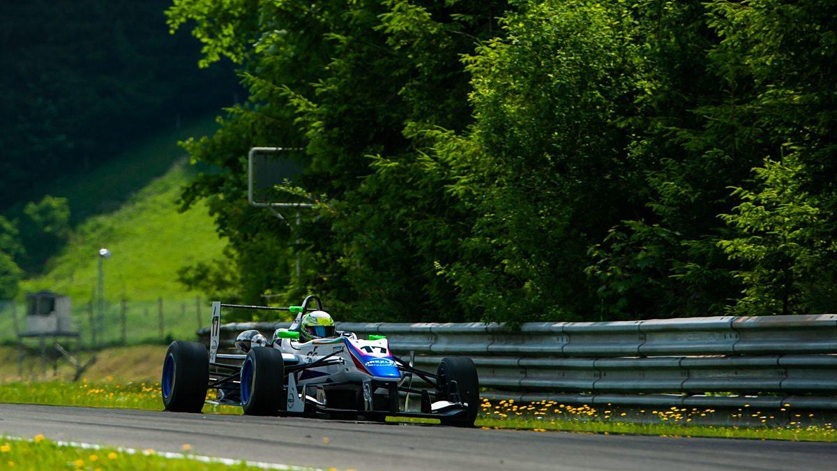 Stefan Fürtbauer zweimal Zweiter im Drexler Formel Cup Credit Michael Jurtin XLR8
