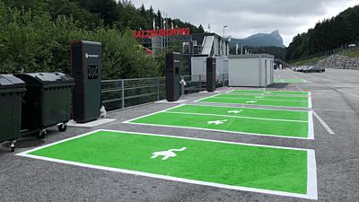 Salzburgring ladestation charging station 2019 03 888x444
