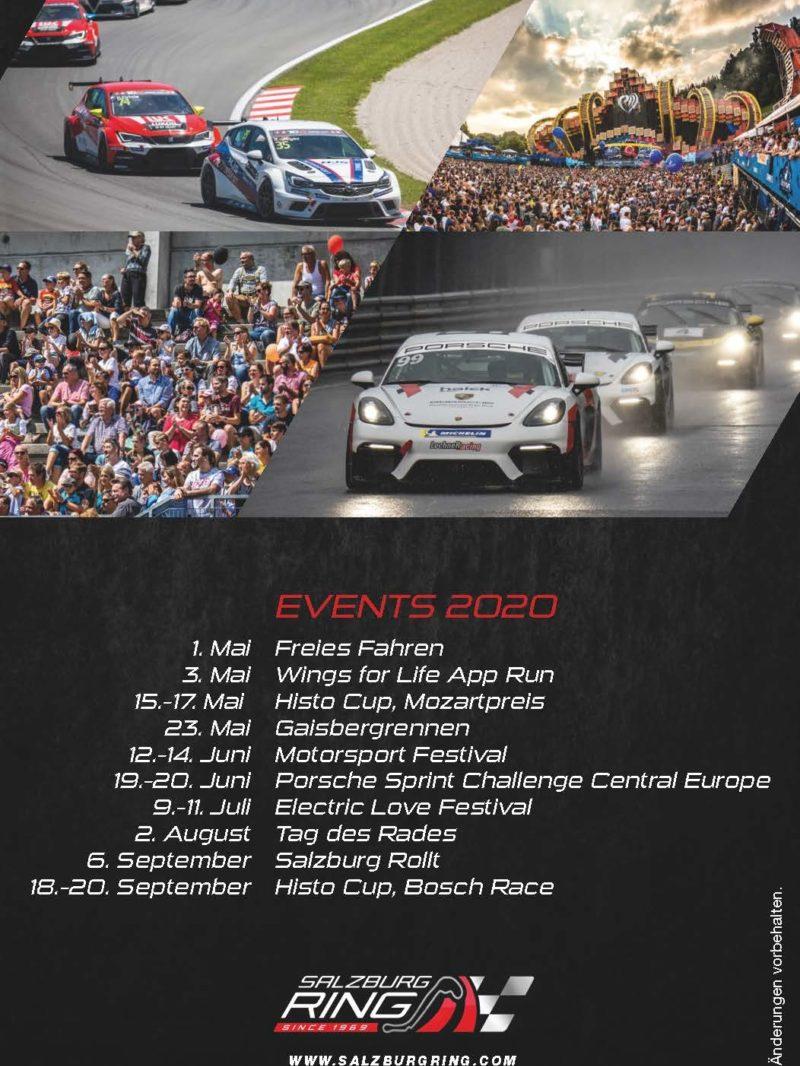 Salzburgring2020 Veranstaltungen